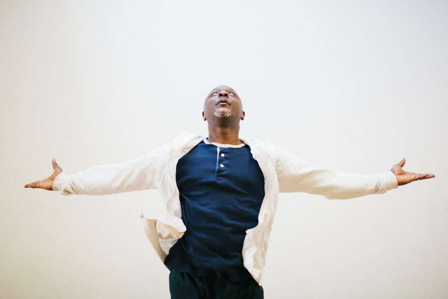 Robert Moses after teaching a modern dance class at his studio, Robert Moses' Kin, near 8th and Folsom in San Francisco, Calif., April 24, 2015. Moses has been teaching dance for over 20 years and is a pillar of the San Francisco dance community. Photo: Peter Earl McCollough, Special To The Chronicle