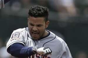Sloppy A's fall to Astros, 9-3 - Photo