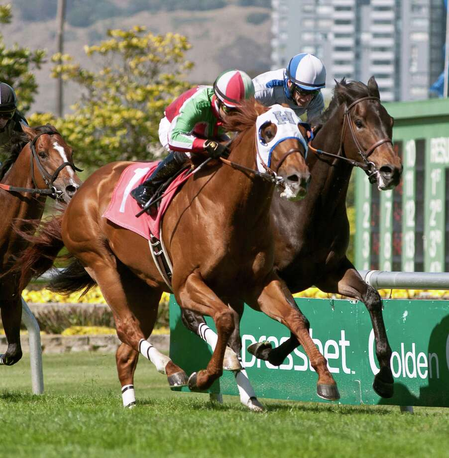 G.G. Ryder, with jockey Ricardo Gonzalez aboard, beat Russell Baze's Summer Hit by a half-length in the Grade 3 $100,000 San Francisco Mile Saturday at Golden Gate Fields.