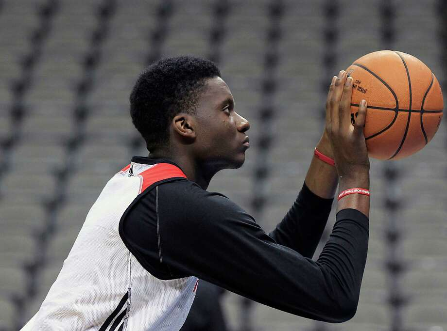 Clint Capela is making 23.5 percent of his free throws, and said it is difficult to have to check out of games because of his struggles from the line. Photo: James Nielsen, Staff / © 2015  Houston Chronicle