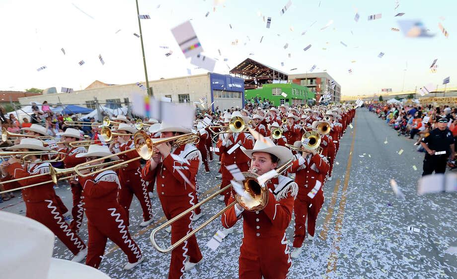 San Antonio celebrates Fiesta Flambeau San Antonio