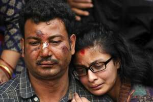 Nepal quake toll rises; rescuers struggle to reach remote sites - Photo