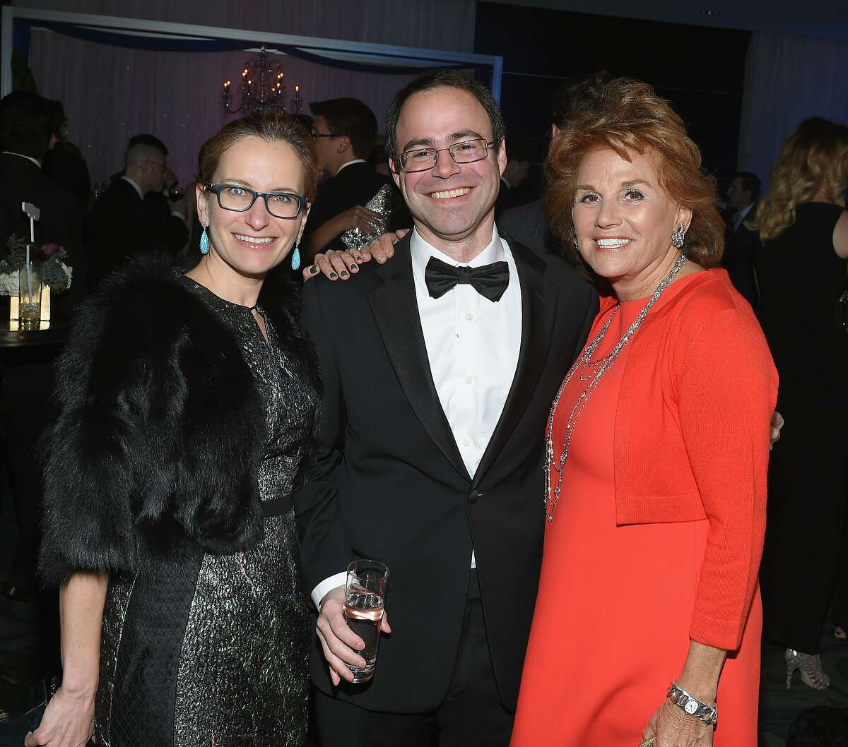 WASHINGTON, DC - APRIL 25: Jacqueline Reses, Ron Bell and guest attend the Yahoo News/ABC News White House Correspondents' dinner reception pre-party at the Washington Hilton on Saturday, April 25, 2015 in Washington, DC. (Photo by Andrew H. Walker/Getty Images for Yahoo)