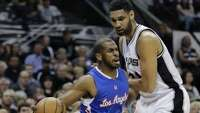 Game 4, halftime: Clippers 51, Spurs 47 - Photo