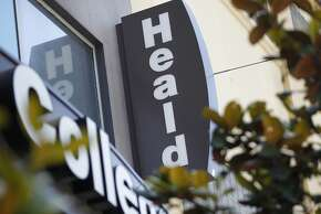 Heald College signs seen June 19, 2014 in San Francisco, Calif. Medical Assistant student Joseph Conner has been attending the college since January 2013 and says he has not received financial aid money since the first semester.