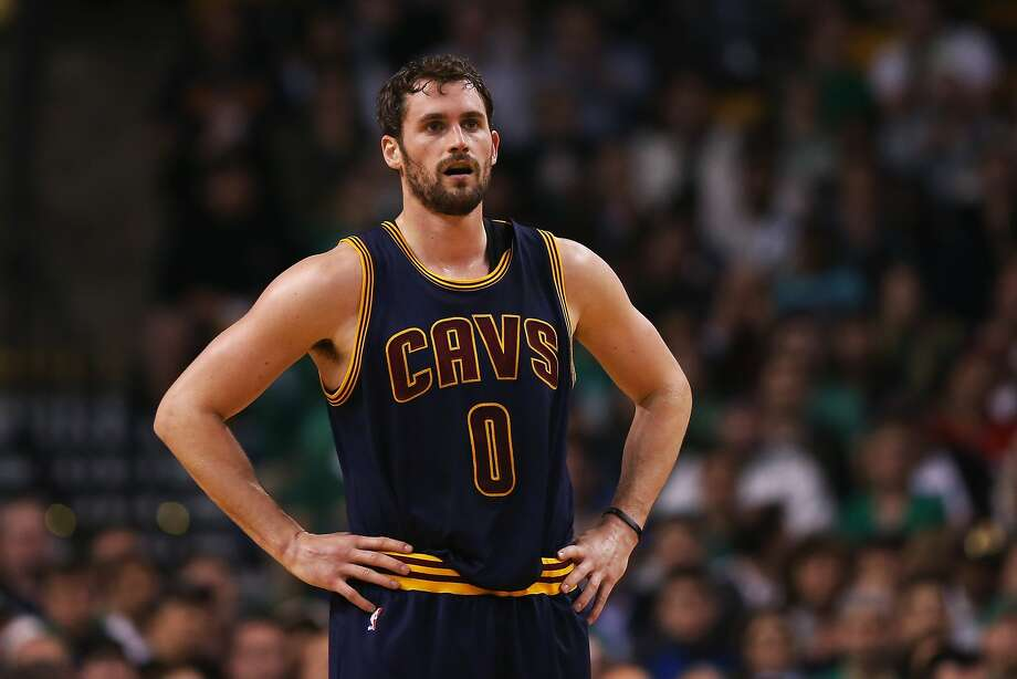 BOSTON, MA - APRIL 23:  Kevin Love #0 of the Cleveland Cavaliers looks on during the first quarter against the Boston Celtics in the first round of the 2015 NBA Playoffs at TD Garden on April 23, 2015 in Boston, Massachusetts. NOTE TO USER: User expressly acknowledges and agrees that, by downloading and/or using this photograph, user is consenting to the terms and conditions of the Getty Images License Agreement.  (Photo by Maddie Meyer/Getty Images) Photo: Maddie Meyer, Getty Images