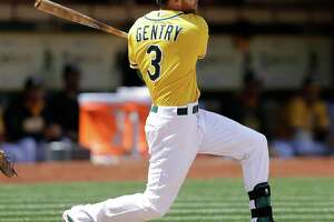 A's keep hot-hitting Billy Burns - Photo