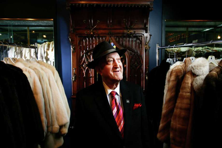 After moving to Houston, Sam Spritzer opened a store named Fur Designs by Spritzer. Through his business, he met stars like Jane Russell and Ginger Rogers. Photo: Michael Paulsen, Staff / Houston Chronicle
