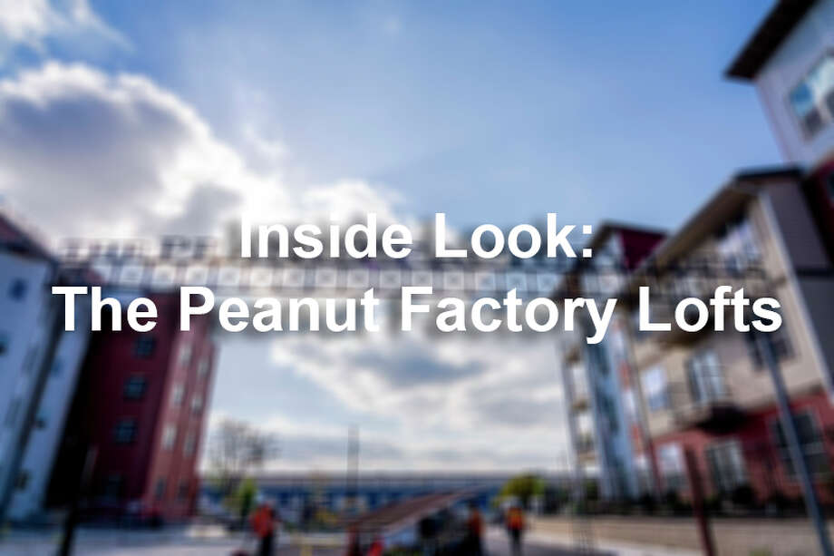 The original Peanut Factory, located at 939 S. Frio St., has been converted into 25 loft-style apartment units that will make up the four silos and the connecting tower. Photo: Paige Shinn , Courtesy Photo/Paige To Page Photography / PaigeToPagePhotography