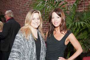 Sherri Ziesche and Ceri Smith at the launch for Eat Drink SF 365 on April 14, 2015.
