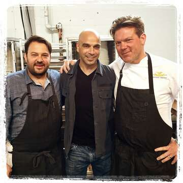 1of 6Meals on Wheels Gala chefs (from left) Stuart Brioza, Mourad Lahlou and