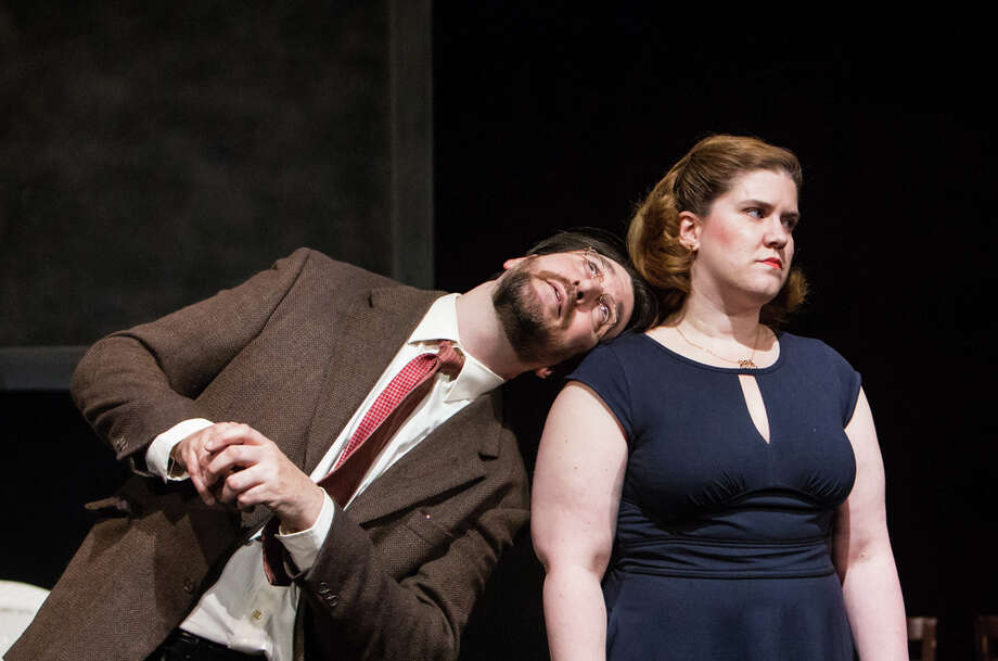 "Lanford Wilson's Pulitzer Prize-winning play ""Talley's Folly"" starts performances May 8 at the Sherman Playhouse with Michael Wright and Stacy-Lee Frome featured in the two-character romantic comedy. Photo: Contributed Photo / Connecticut Post Contributed"