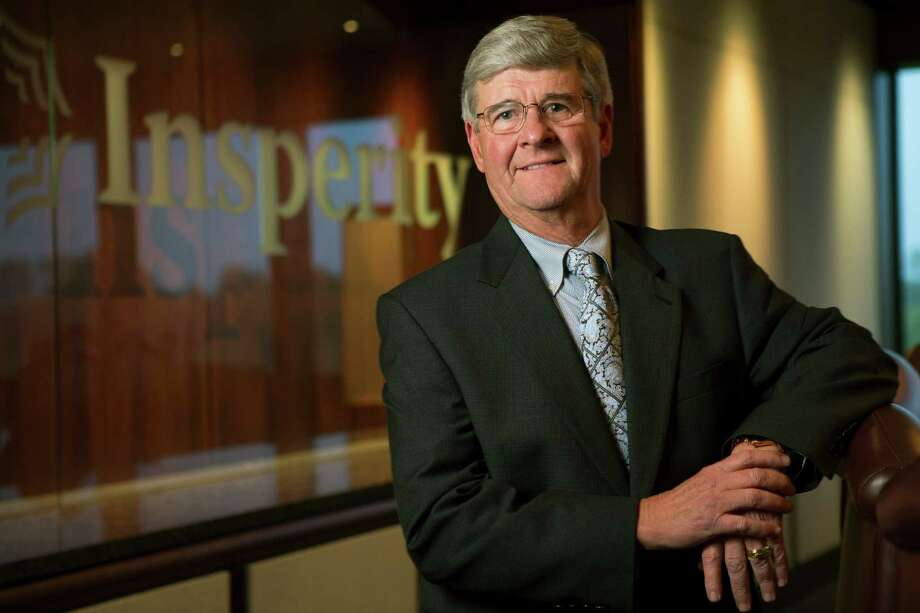 Richard G. Rawson, Insperity president, poses for a portrait in the company board room on Thursday, Sept. 25, 2014, in Kingwood.  He has been president of the human resources company since August 2003. ( Brett Coomer / Houston Chronicle ) Photo: Brett Coomer, Staff / © 2014 Houston Chronicle