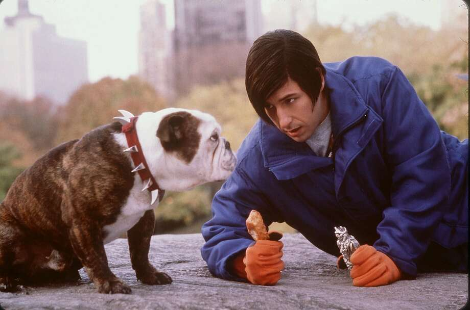 "Beefy (Left) and Adam Sandler star in New Line Cinema's ""Little Nicky."" (AP Photo/New Line Cinema, M. Aronowitz)  ALSO RAN: 04/27/2001 Photo: M. Aronowitz, Associated Press"