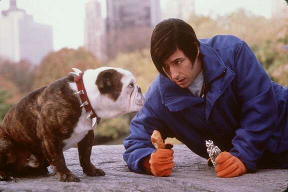"Beefy (Left) and Adam Sandler star in New Line Cinema's ""Little Nicky."" (AP Photo/New Line Cinema, M. Aronowitz)  ALSO RAN: 04/27/2001"