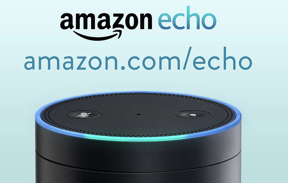 "Columnist Mark Mathias says, ""Amazon Echo looks like a big juice can. Itís black, about 4 inches in diameter and about 12 inches tall ... It hooks into my home WiFi network, but with that, youíre off and running. What I like about it is that you simply talk to it. Itís name is Alexa."" Photo: Contributed Photo / Westport News"