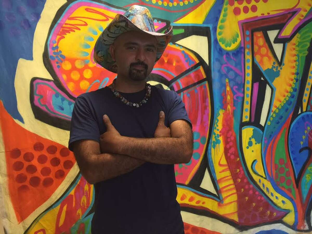 Artist Gonzo247 grew up in Houston and has made it his personal mission to represent the city and promote its street art.