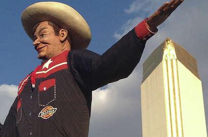 Big Tex. Texas State Fair. Dallas Texas