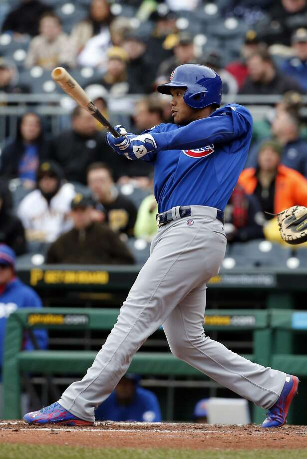 Cubs rookie Addison Russell has batted ninth since his callup. Photo: Gene J. Puskar, Associated Press