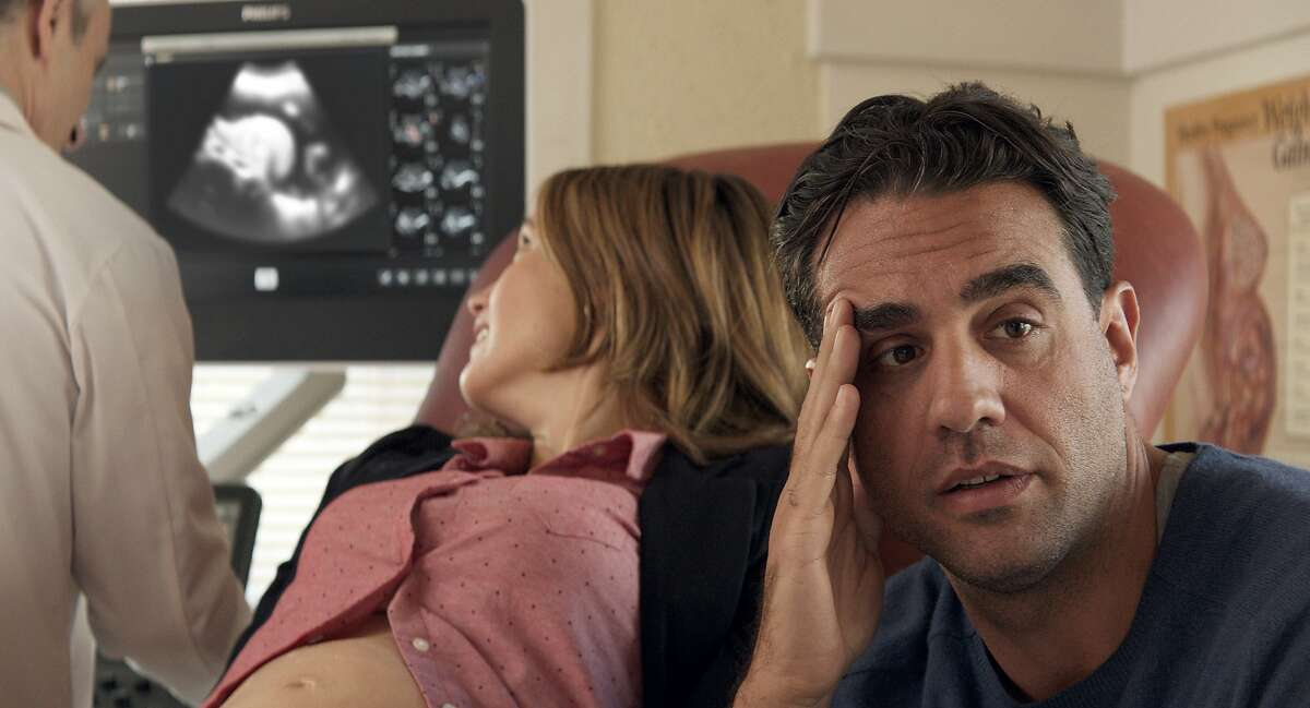 In this image released by Radius-TWC, Bobby Cannavale, right and Rose Byrne appear in a scene from