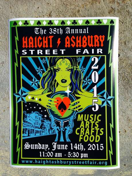 Here is Elizabeth Prillinger's winning Haight Street Fair poster.