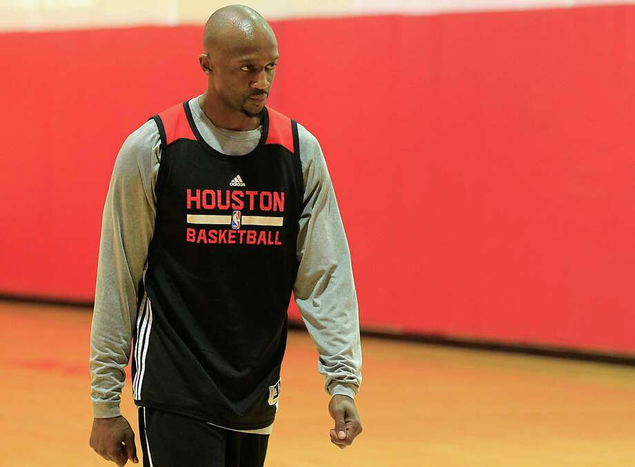 Houston Rockets guard Jason Terry during the Houston Rockets practice at the Toyota Center Monday, April 27, 2015, in Houston.  ( James Nielsen / Houston Chronicle ) Photo: James Nielsen, Staff / © 2015  Houston Chronicle