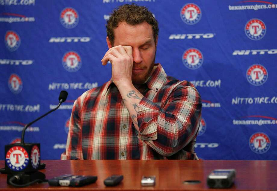 Outfielder Josh Hamilton made no apologies for his play as a member of the Los Angeles Angels. Photo: Tom Pennington, Staff / 2015 Getty Images
