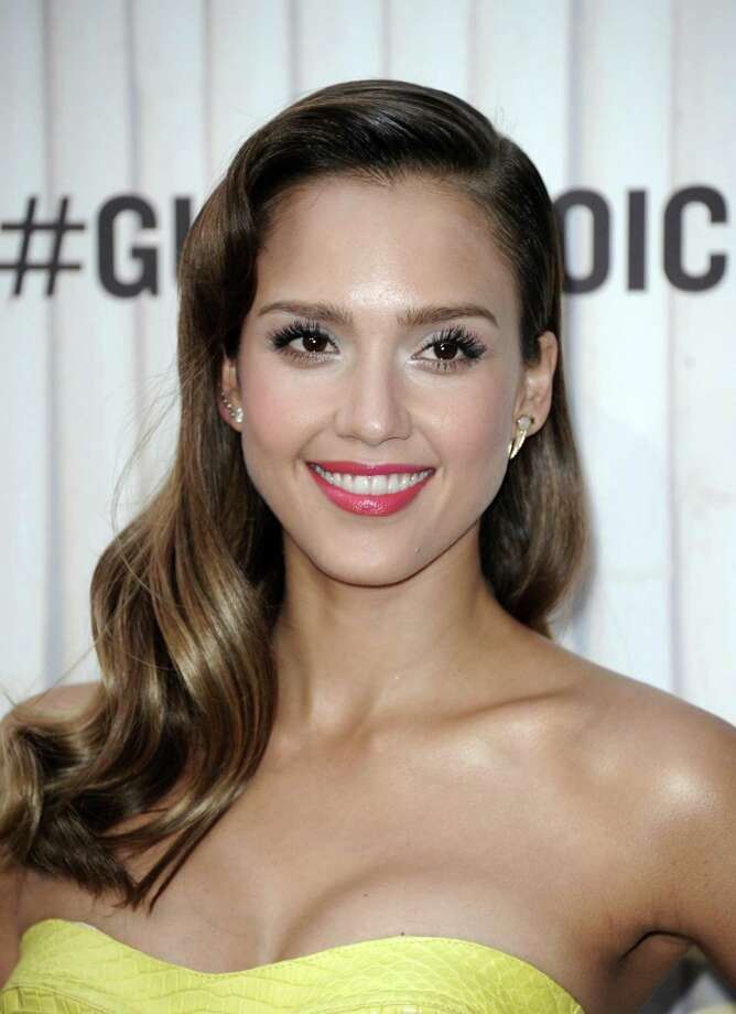 Jessica Alba arrives at Spike TV's Guys Choice Awards at Sony Pictures Studios on Saturday, June 8, 2013, in Culver City, Calif. (Photo by Richard Shotwell/Invision/AP) Photo: Richard Shotwell / Invision