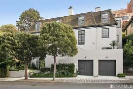 The Pacific Heights home recently came to market at 11.5 million.