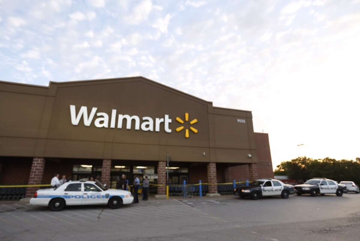 A Houston Community College officer was stabbed while working as security at a southeast Houston Walmart on April 28, 2015.