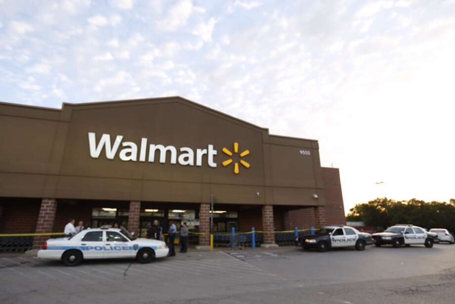 A Houston Community College officer was stabbed while working as security at a southeast Houston Walmart on April 28, 2015. Photo: Cody Duty / Houston Chronicle