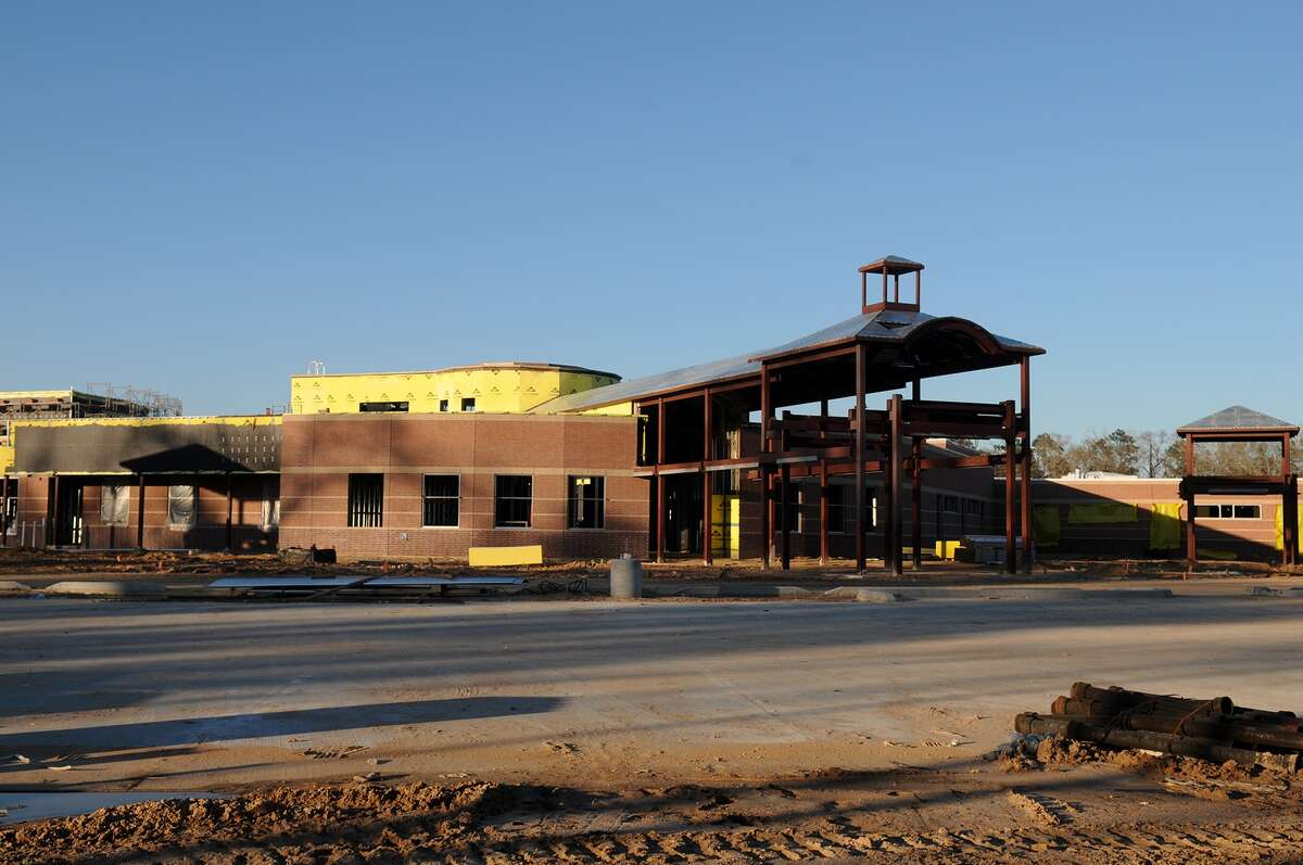 Construction continues on French Elementary School, a new Klein ISD school located on West Rayford Road near Gosling Road.