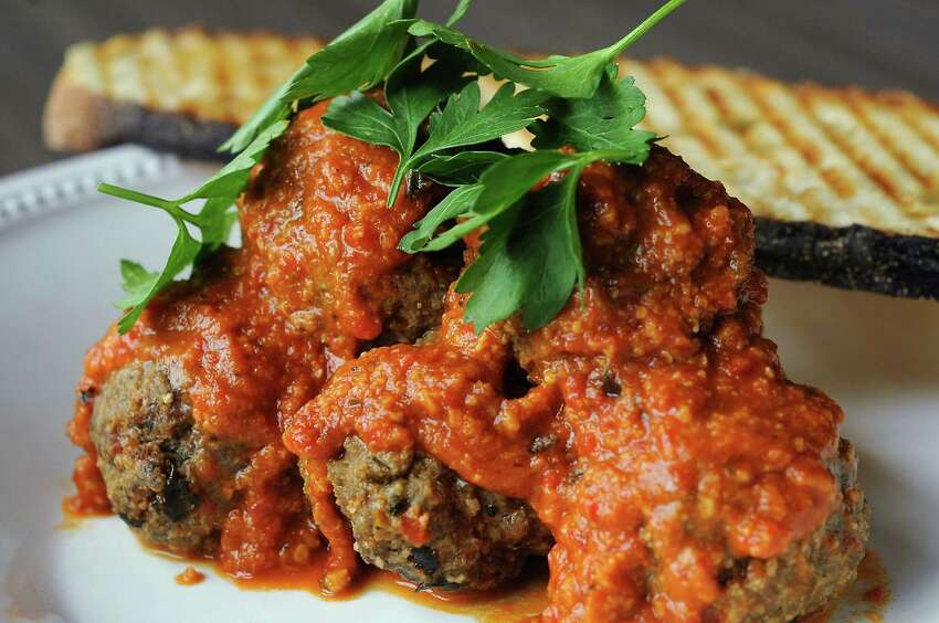 The meatballs at Weights & Measures.
