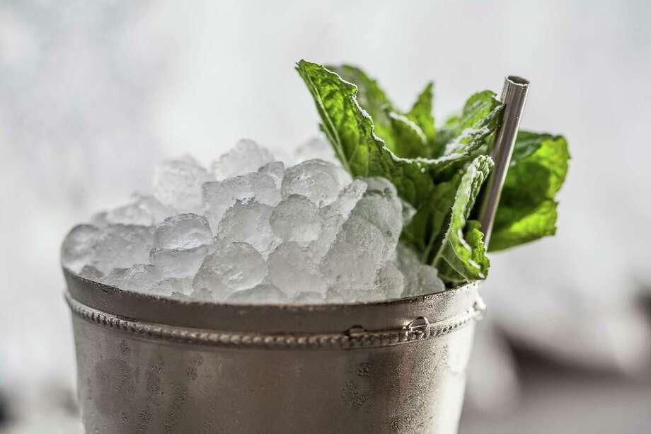 Classic Mint Julep cocktails from Alba Huerta, of Julep in Houston. Photo: Julie Soefer / Julie Soefer