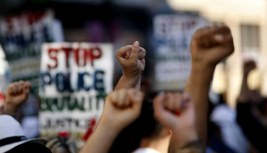 Protests over police killings of African Americans have spread to many cities as more news reports of killings surface. Photo: Lacy Atkins, The Chronicle