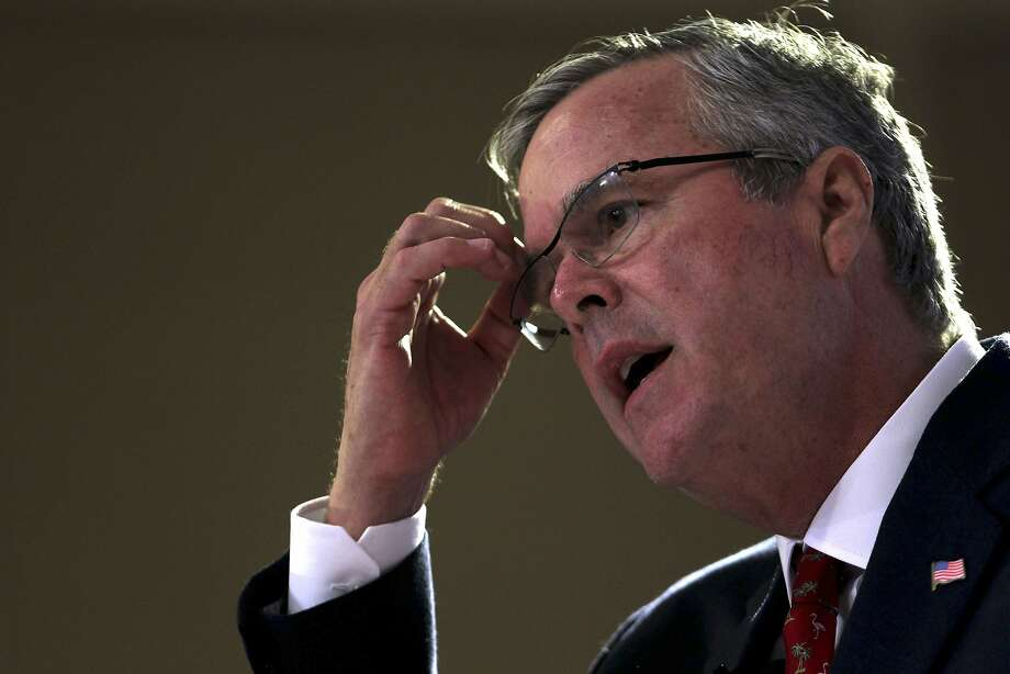 """Former Florida Gov. Jeb Bush tells an audience in Puerto Rico the GOP should be proud the U.S. is an """"immigrant nation."""" Photo: Ricardo Arduengo, Associated Press"""