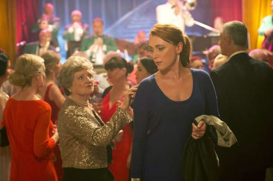zHBO Julia McKenzie and Keeley Hawes star in ?The Casual Vacancy? on HBO.