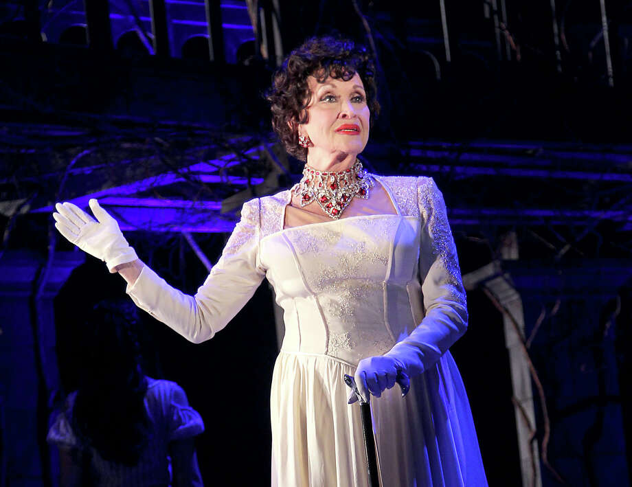 "In this Feb. 12, 2015 photo released by Starpix, Chita Rivera appears at a media event for Kander and Ebb's Final Musical, ""The Visit,"" at The Lyceum Theatre in New York. (Aurora Rose/Starpix via AP) ORG XMIT: NYET262 Photo: Aurora Rose / STARPIX"