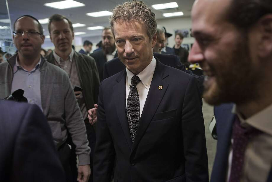 Sen. Rand Paul hopes to appeal to younger voters and high tech. Photo: Victor J. Blue, Bloomberg