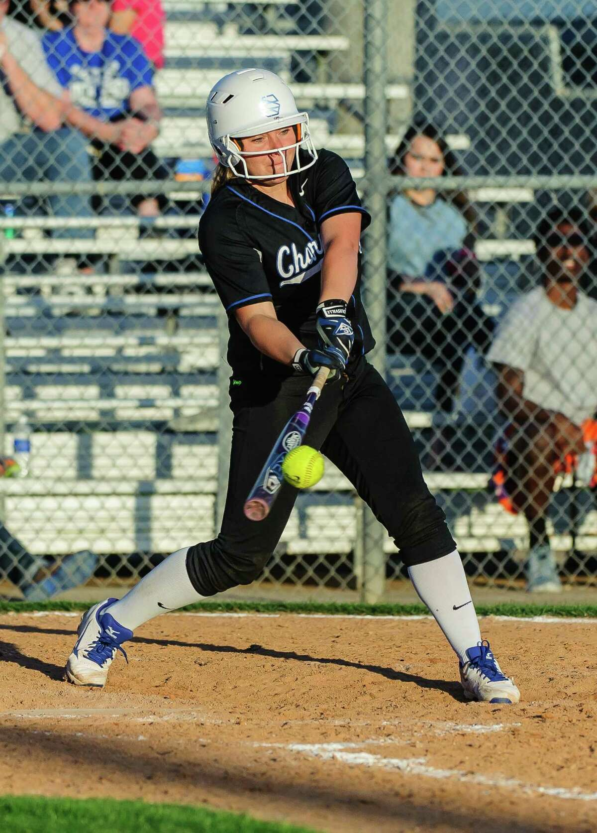 Clear Springs's Kelly Maxwell has been a terror both at the plate and on the mound this season.