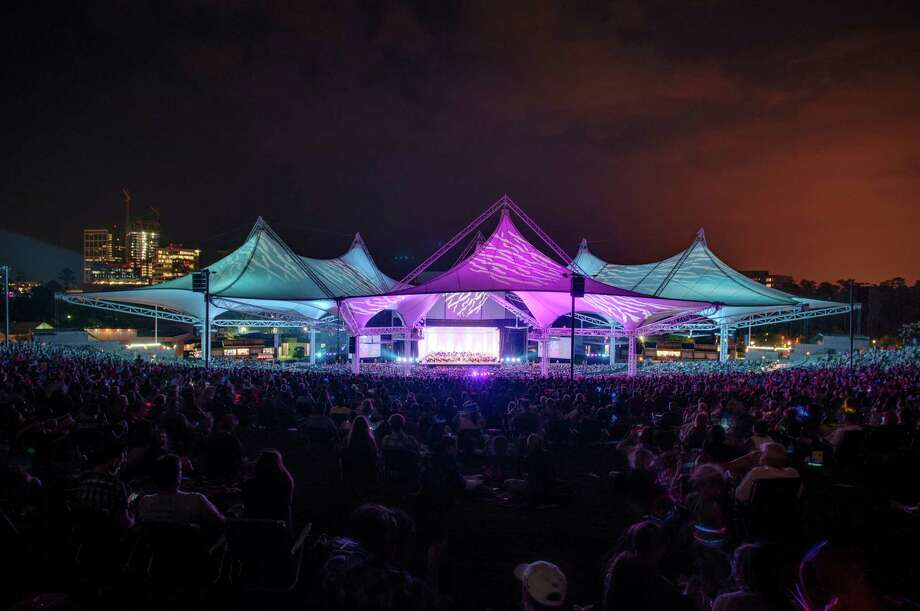The Cynthia Woods Mitchell Pavilion has seen varied performers and acts since its establishment, including the Houston Ballet and Houston Grand Opera, as well as touring artists. Photo: Ted Washington, File  / CopyrightÂTed Washington