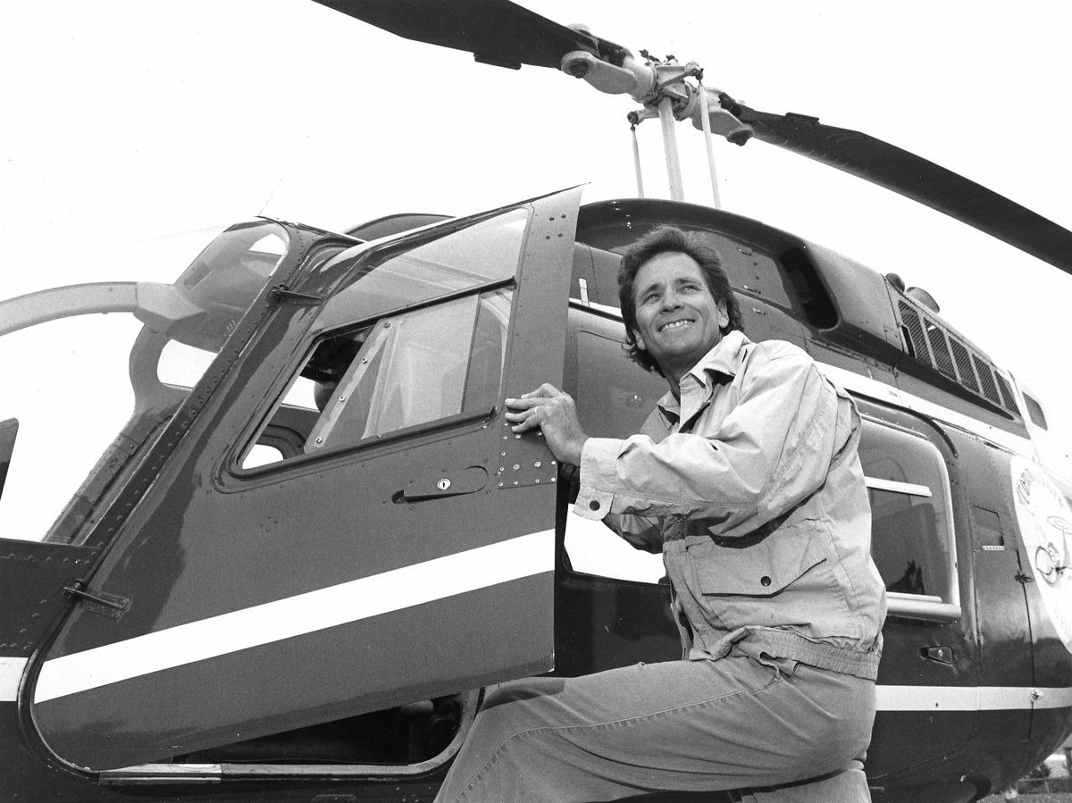 Doug McConnell of KPIX Handout 1988