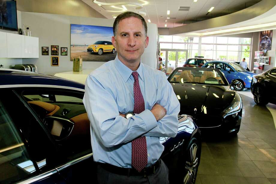 "Steven Wolf of Helfman Dodge Chrysler Jeep Ram says sales are ""maintaining."" Photo: Gary Fountain, Freelance / Copyright 2015 by Gary Fountain"
