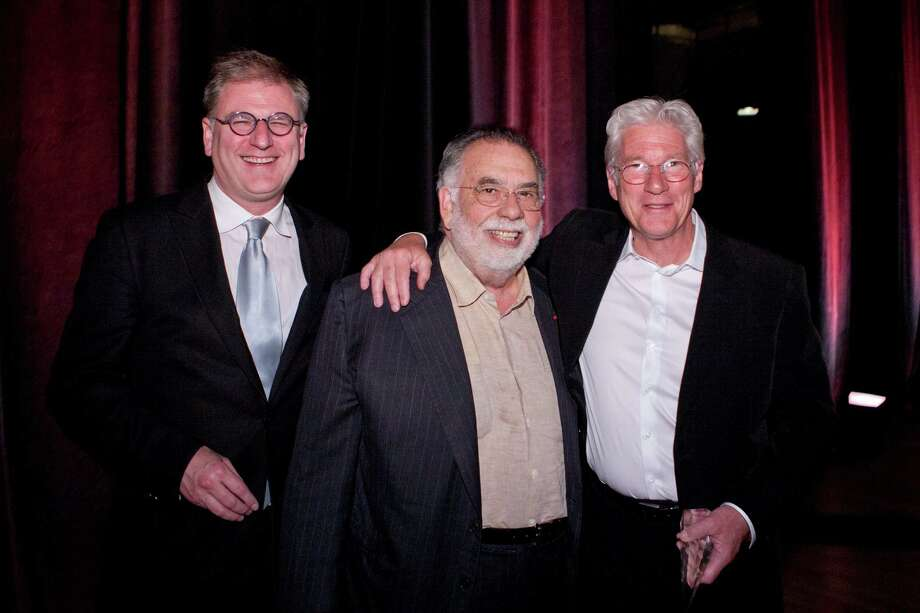 Noah Cowan (left), Francis Ford Coppola and Richard Gere.
