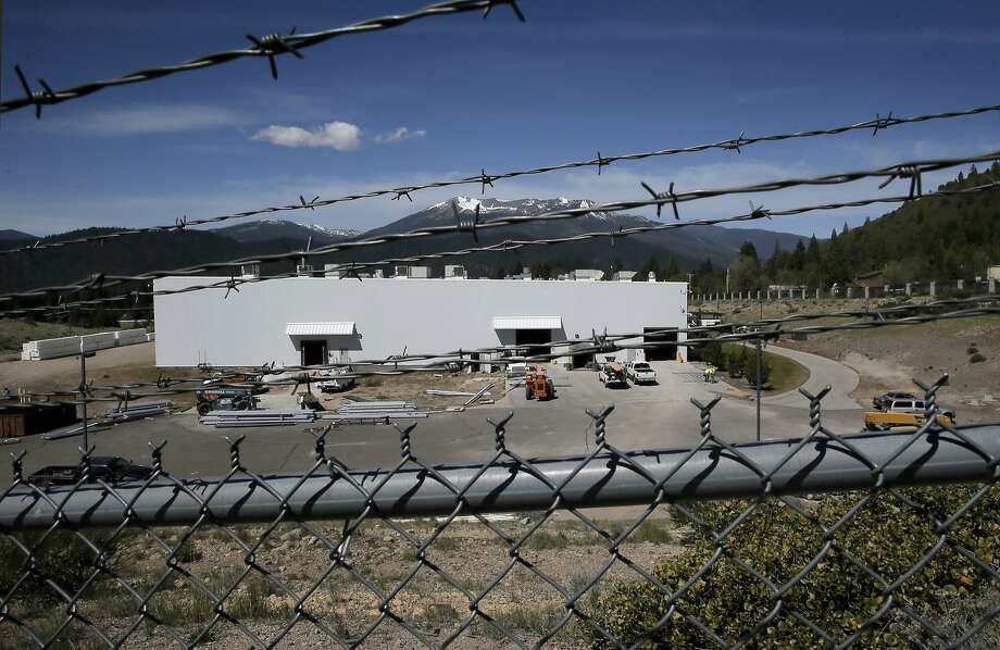 Workers were retrofitting the Crystal Geyser plant in Mount Shasta, Calif., on Tues. April 28, 2015. Crystal Geyser is opening the bottling plant soon without any environmental review or limits at a time when everyone else in the state is being asked to drastically cut water use. California's non-existent laws on groundwater use allow this. Photo: Michael Macor, The Chronicle