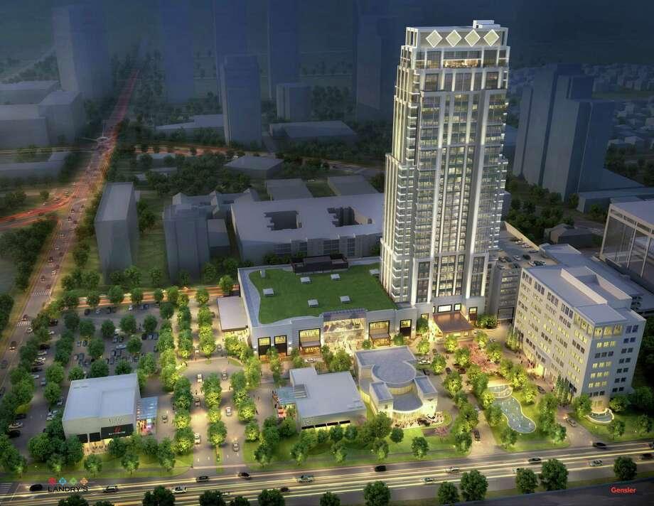 Post Oak Houston >> The Post Oak Called Luxury Destination Houston Chronicle