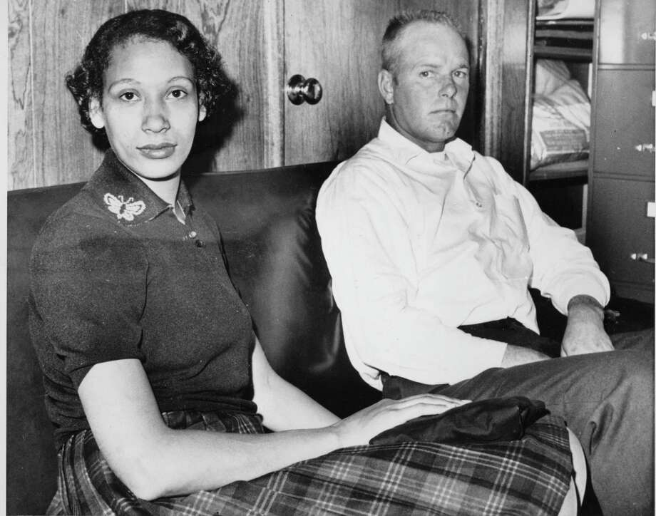 Mildred Loving with her husband, Richard P. Loving, in 1965. Mildred's challenge to Virginia's ban on interracial marriage led to a landmark Supreme Court case. Photo: AP / AP