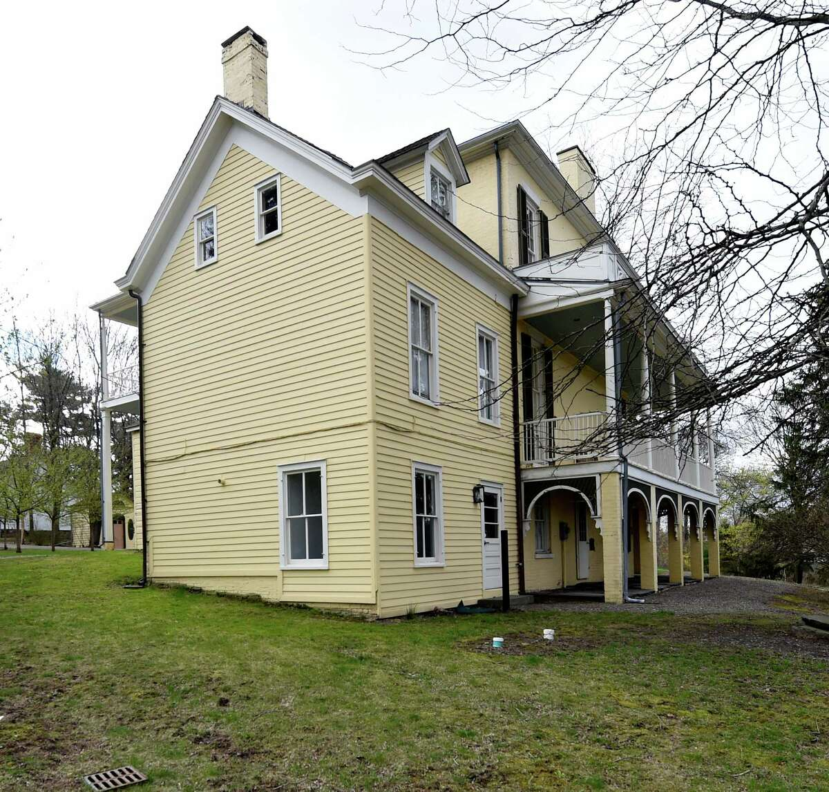 The Thomas Cole museum Friday April 24, 2015 in Catskill, N.Y. (Skip Dickstein/Times Union)