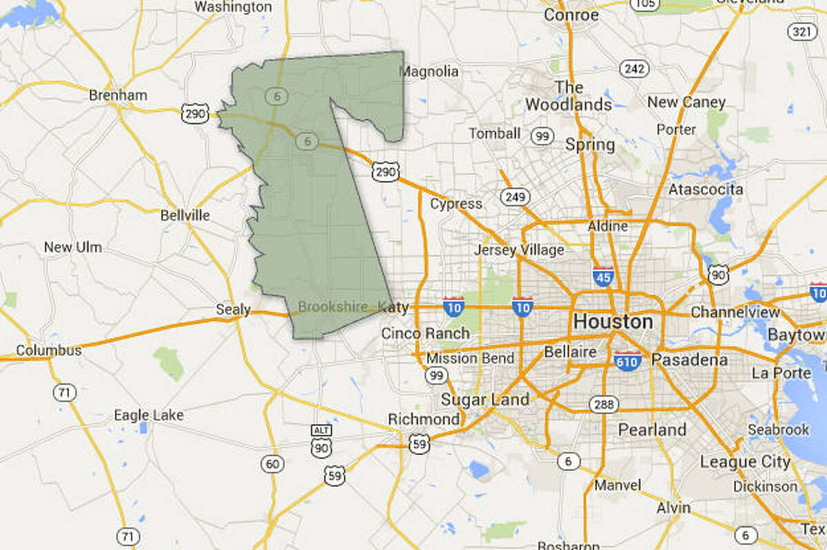 County: WallerPrevalence: 4.5 percent (2.8 - 6.7)