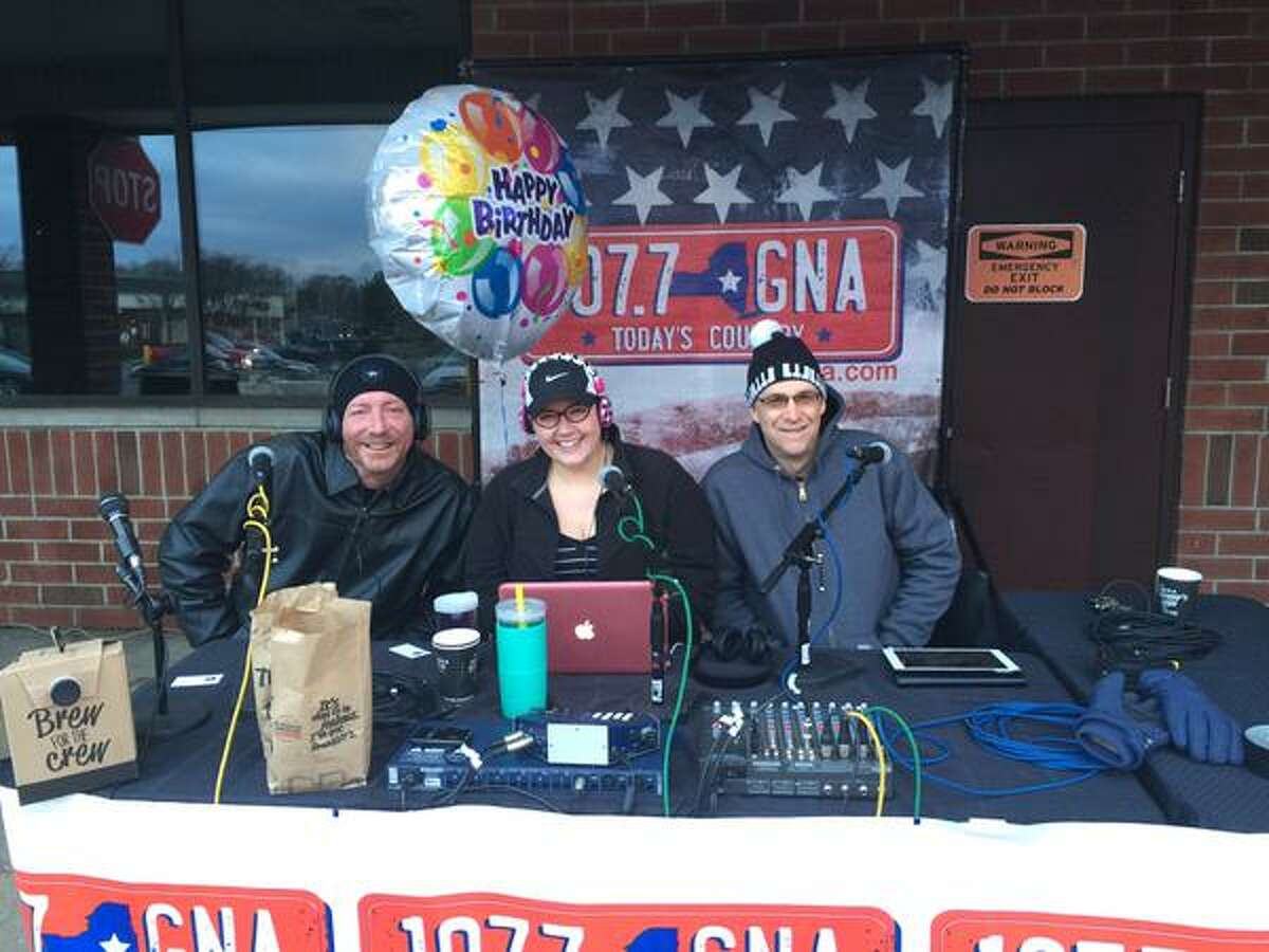 2. Sean, Richie and Bethany, WGNA 107.7 FM (Note: Richie retired in January after 27 years on the air)